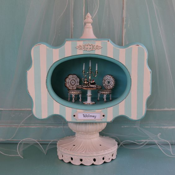 All sizes | Shadow Box - Shrine - WHIMSY | Flickr - Photo Sharing! This is disgustingly cute!!!