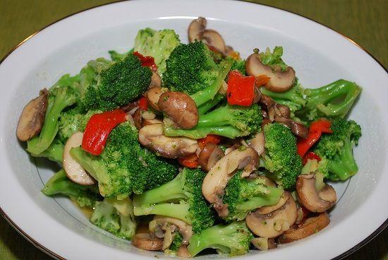 Resep Cah Brokoli Jamur Enoki Enak Dan Sederhana Memasak Brokoli Resep Jamur