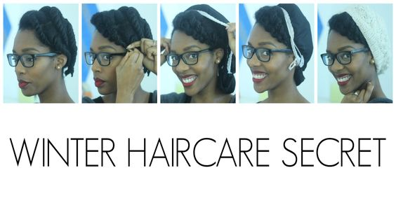 HAIR | My Winter Hair Care Secret For Natural Hair