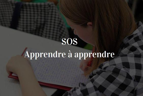 Apprendre à apprendre des ressources simples pour les enfants et les adolescents