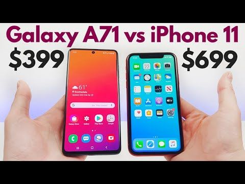 Samsung Galaxy A71 Vs Iphone 11 Who Will Win Youtube Galaxy Samsung Galaxy Samsung