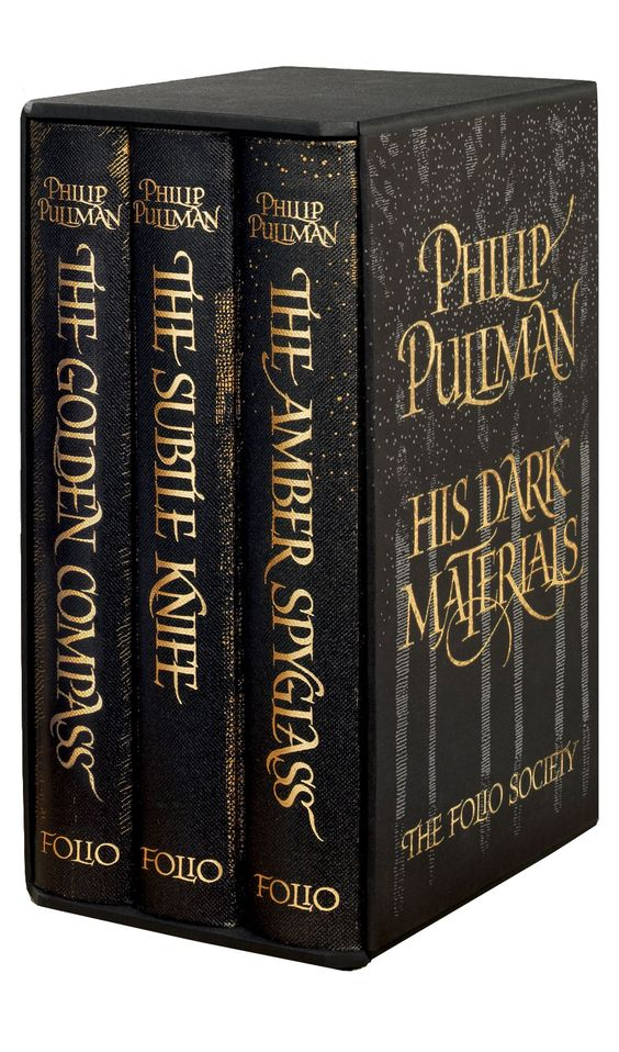 His Dark Materials trilogy by Philip Pullman // Folio Society