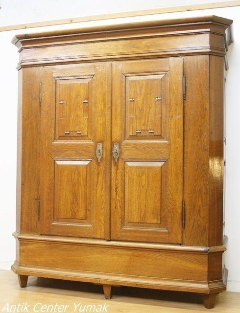Biedermeier Jugendstil Schrank Kleiderschrank Dielenschrank Kommode Antik 1860 Kommode Antik Dielenschrank Biedermeier