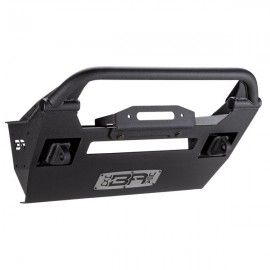 Body Armor Pro-Series Front Stubby Winch Bumper with Shorty Stinger and D-Ring Mounts