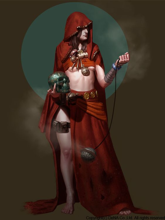 Priestess by Thorsten-Denk.deviantart.com