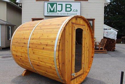 Sauna En Baril Outdoor Decor Home Decor Decor