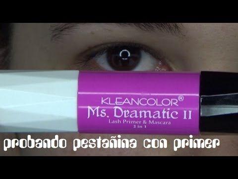 Probando pestañina con primer / proving mascara with primer