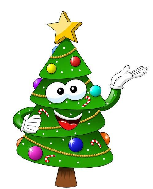Pin By Engel On Clipart Cartoon Christmas Tree Tree Wallpaper Vintage Christmas Crafts Decorations
