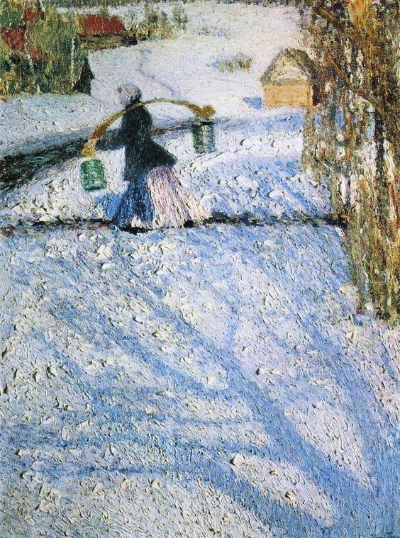 Igor Grabar (1871-1960), Snow, March, 1904