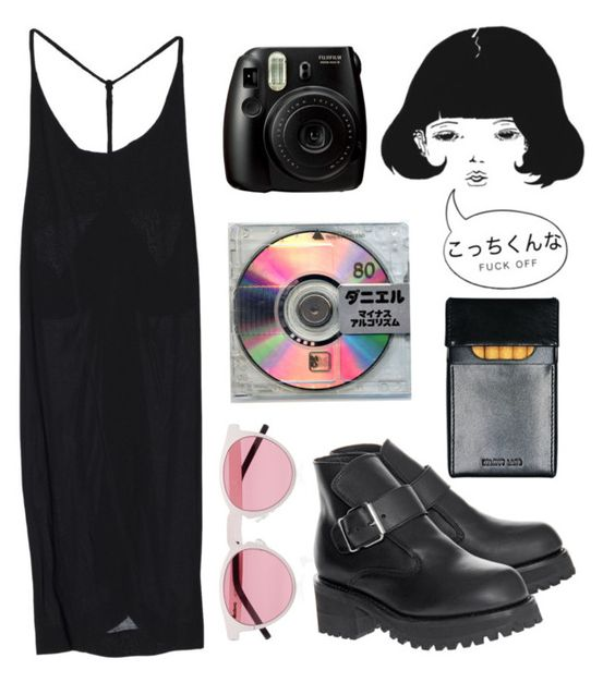 """Untitled #12"" by nadinefreschl ❤ liked on Polyvore featuring Opening Ceremony, Fujifilm and Illesteva"