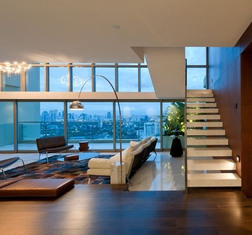 Sophisticated penthouse apartment in Bangkok | Modern apartment ...