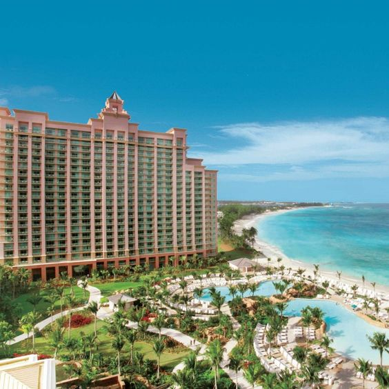 The Reef Atlantis—Paradise Island, The Bahamas. #Jetsetter travel