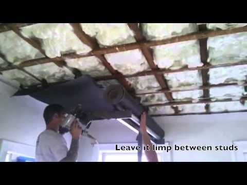 How To Soundproof A Finished Basement Ceiling Soundproof Advice Basement Ceiling Sound Proofing Ceiling