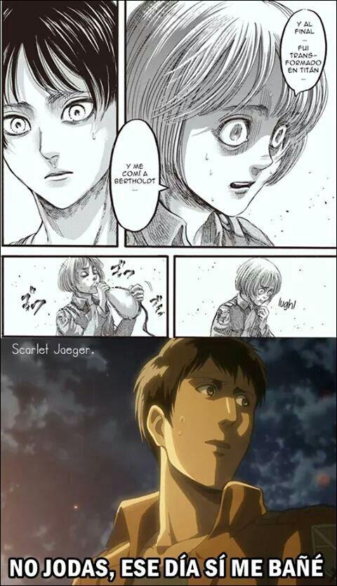 Memes De Shingeki No Kyojin 1 125 Kyojin Shingeki No Kyojin Shingeki No Kyojin Espanol