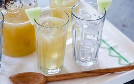 honeydew green tea - how delicious!