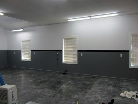 50 Garage Paint Ideas For Men Masculine Wall Colors And Themes Garage Color Ideas Garage Paint Colors Garage Interior