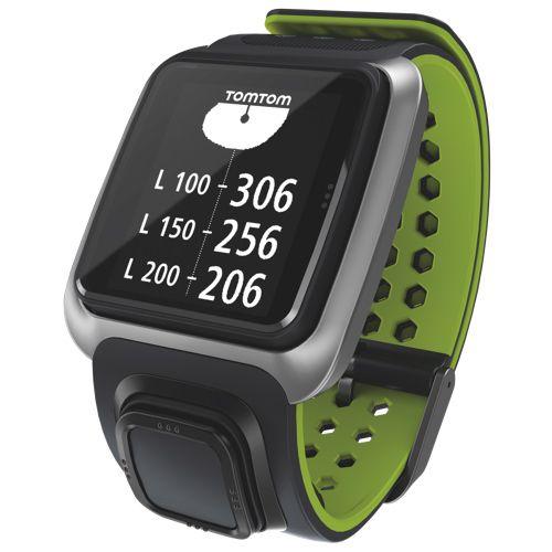 Tomtom Golfer Gps Watch Dark Greybright Green Gps Watches Smart Tracking
