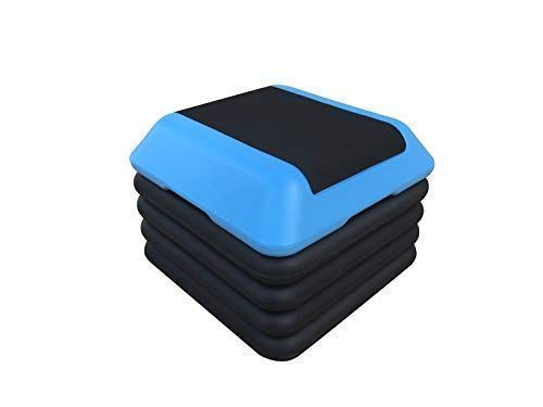 Northern Stone High Aerobic Step Workout Training Device with Five Adjustable Height Levels 10cm 15cm 20cm 25cm and 30cm