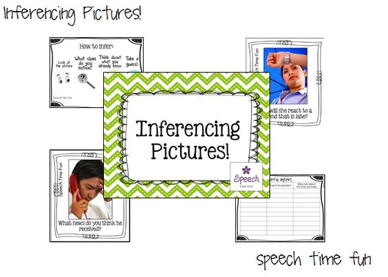 Speech Time Fun: Inferencing Pictures!
