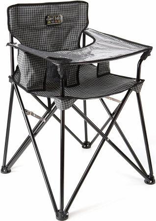 An outdoor high chair that makes sense!