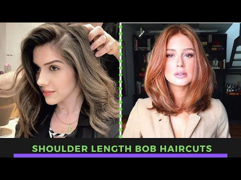 Shoulder Length Bob Haircut Hottest Long Bob Haircut Transformation By Bob Experts Youtube In 2020 Shoulder Length Bob Haircut Long Bob Haircuts Hair Styles