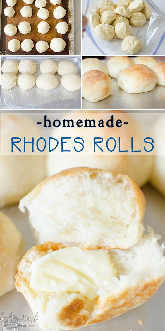 Frozen Dinner Rolls Are A Homemade Version Of Store Bought Yeast