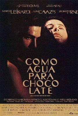 """""""Como agua para chocolate"""" Literatura mexicana llevada a la gran pantalla en 1992 de la mano de Alfonso Arau. La novelaromántica ha dado la vuelta al mundo y cuenta la historia de amor y gastronomía de dos jóvenes en el México de principios del siglo XX."""