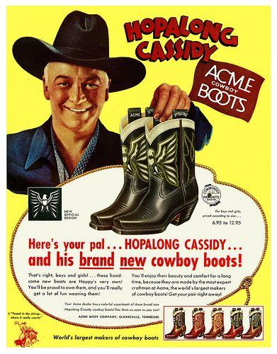 Hopalong's Acme Boots