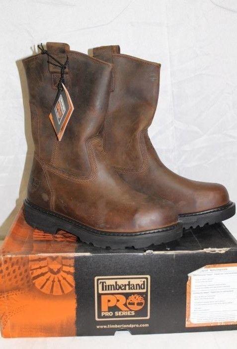 entrega Resistencia progresivo  Timberland Pro Series Wellington Steel Toe Boots Gaucho Brown sz 7 Mens # Timberland #WorkSafety | Steel toe boots, Boots, Steel toe work boots