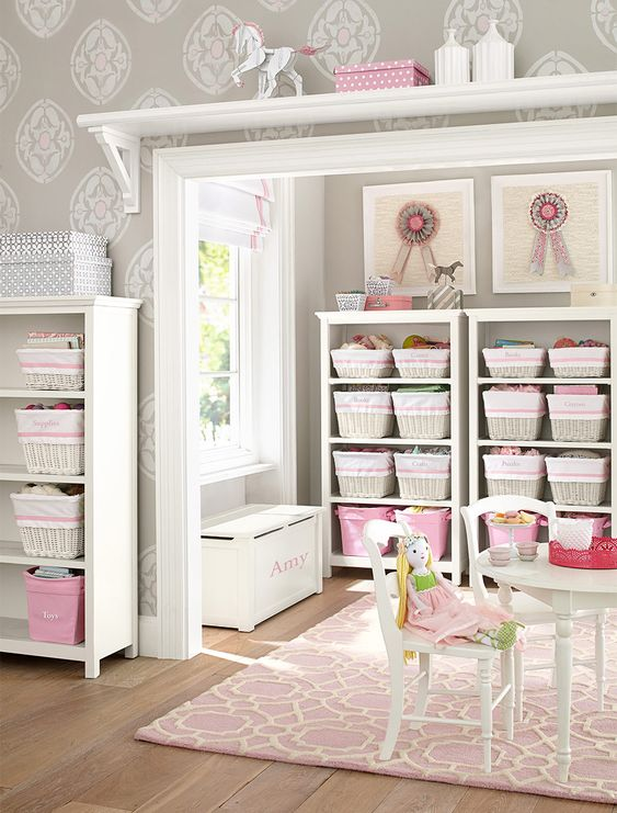 The Perfect Storage For Any Play Space Big Girl Room