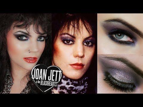 Maquiagem Joan Jett 80s Joan Jett Makeup Tutorial Rocker