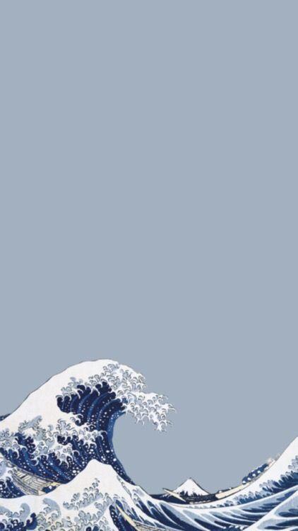 Aesthetic Wave Wallpaper : aesthetic, wallpaper, Hello,, Phone, Wallpapers, Vintage,, Iphone, Wallpaper, Vsco,, Aesthetic