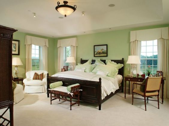 Decorating A Mint Green Bedroom Ideas Inspiration Green Wall Paints Furniture And Mint
