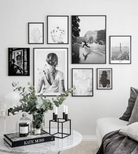 Tableau Moderne En 2020 Cadre Deco Salon Deco Decoration Mur