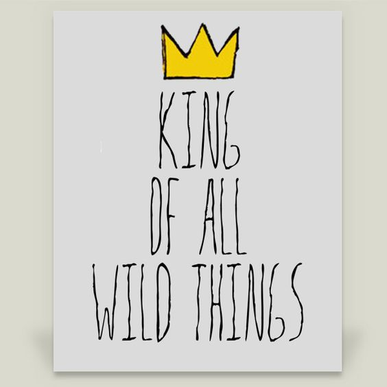 Fun Indie Art from BoomBoomPrints.com! https://www.boomboomprints.com/Product/katyrae/King_Of_All_Wild_Things/Art_Prints/8x10_Print/