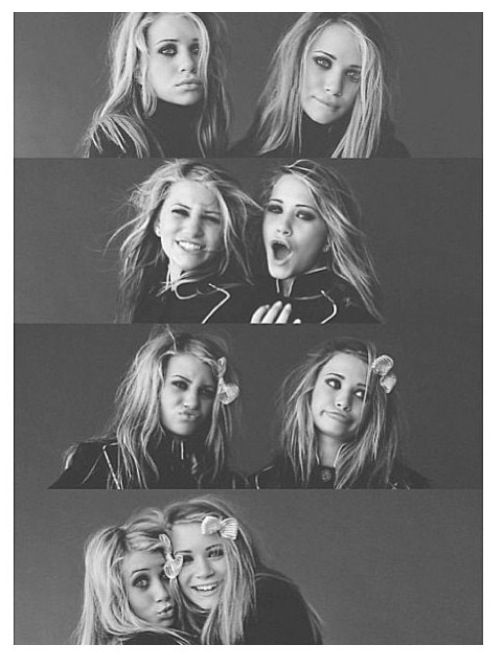 Mary Kate Olsen and Ashley Olsen Twins