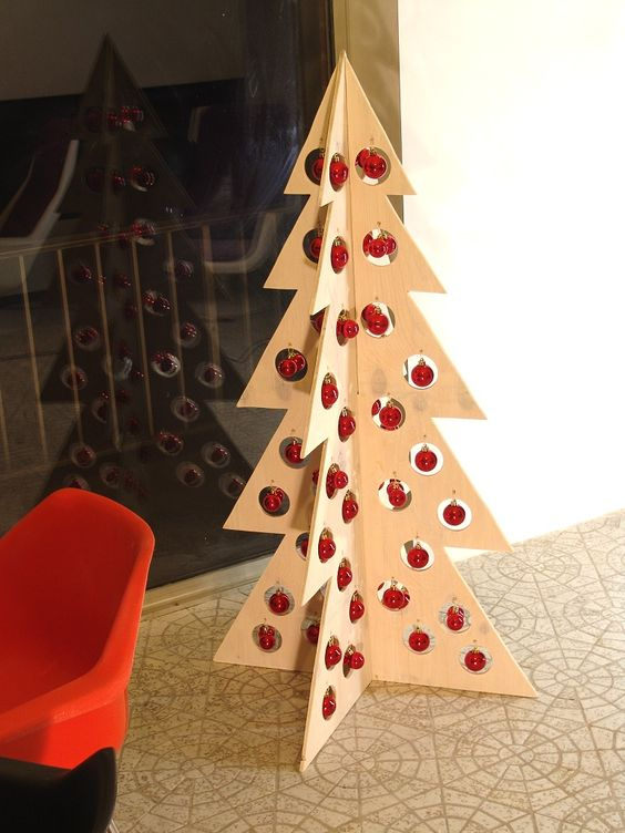Easy plywood christmas tree google search to do list for Plywood christmas tree
