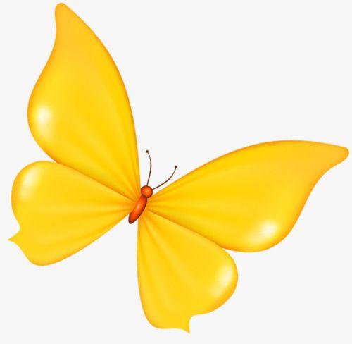 Yellow Butterfly Cartoon Butterfly Clip Art Cartoon Butterfly Yellow Butterfly