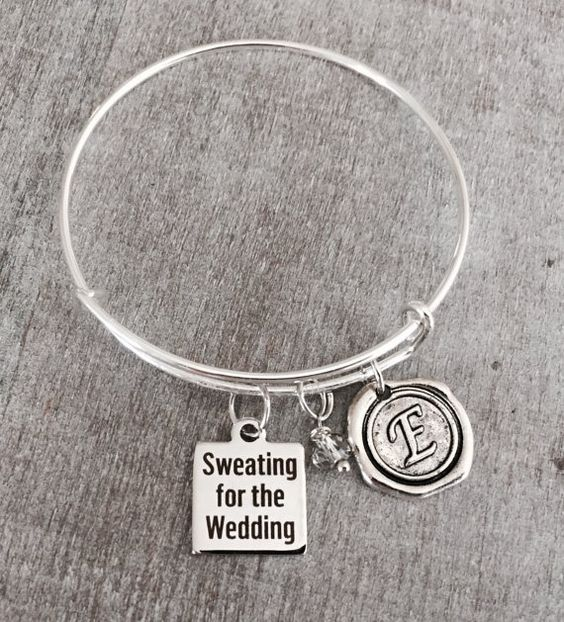 Sweating for the Wedding Girlfriend Quote Wedding by SAjolie