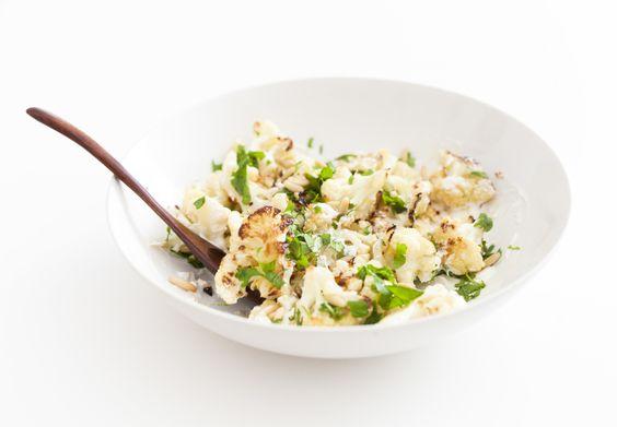 Herb Roasted Cauliflower