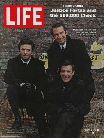 Life Magazine: Peter Falk, Ben Gazzara, & John Cassavetes, May 9, 1969