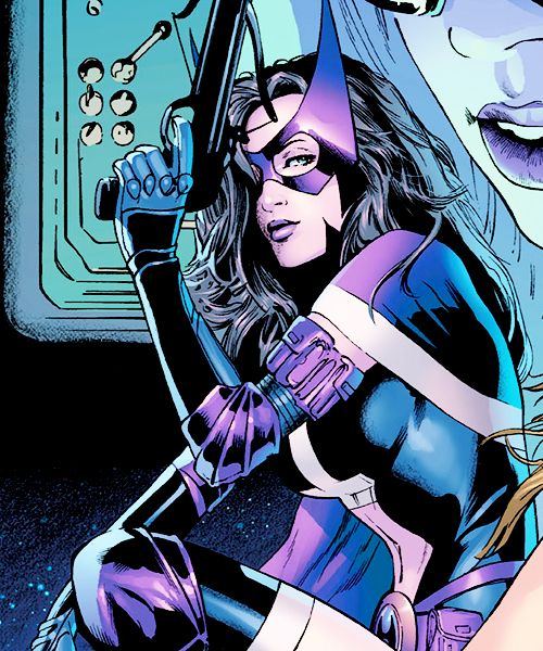 tterrymcginnis:  Helena on the cover of Birds of Prey #65