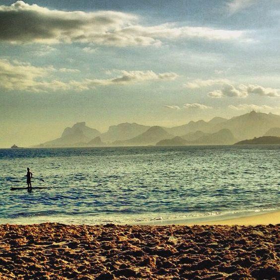 Praia do Sossego, Niterói - RJ, Brasil.