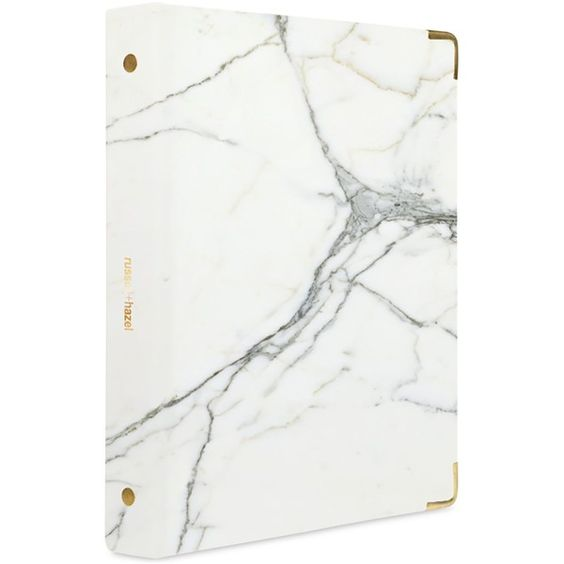 Russell & Hazel Mini 3 Ring Binder ($9.99) ❤ liked on Polyvore featuring home, home decor, office accessories, marble, mini binder, dry erase, mini dry erase erasers, mini ring binder and russell hazel binder