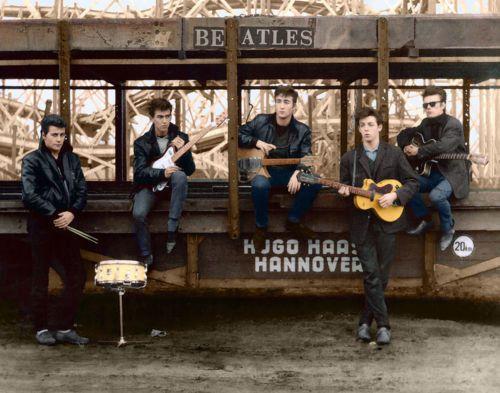 The-Beatles-Paul-McCartney-John-Lennon-George-Harrison-11-x-14-034-Photo-Print