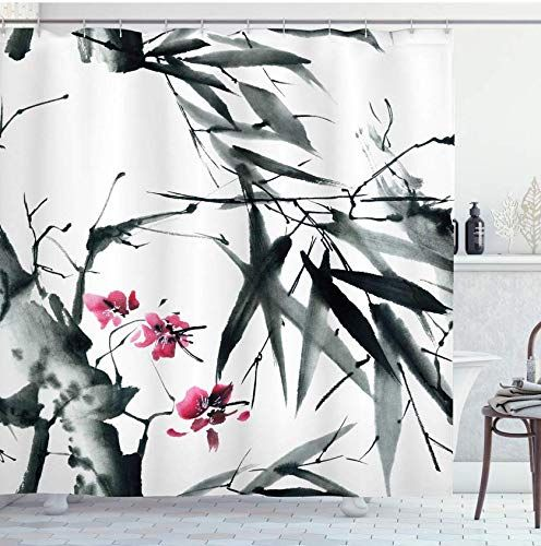rideau de douche imprime 3d 1800x200cm