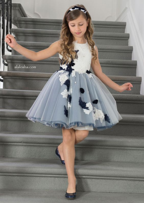 ALALOSHA: VOGUE ENFANTS: NEW season: The Lesy miracle dresses!: