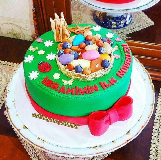 Holiday Decorating Novruz Bayram Novruz Cake Cake Holiday Cakes Diy Holiday Decor