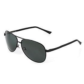 Polarized Men's Aviator Alloy Retro Driving Sunglasses