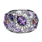 Multi-Gemstone Ring in Sterling Silver, available at #HelzbergDiamonds